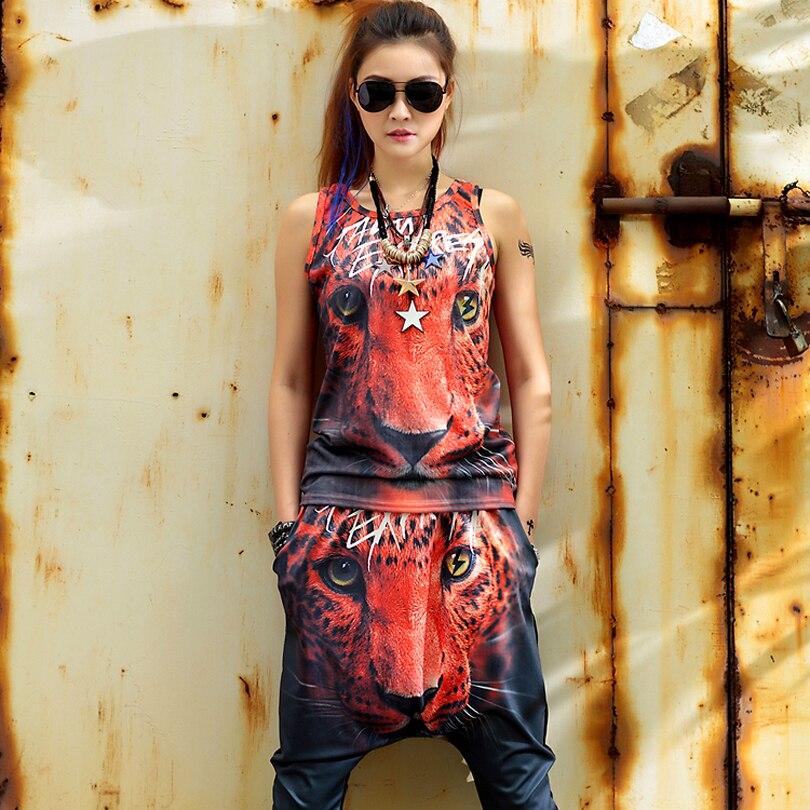 67a76a7ea أزياء النساء 2019 اثنين من قطعة تنورة وأعلى المتناثرة 3d طباعة رداء غير  رسمية شخصية الاتجاه الملابس مجموعة الأزياء لباس غير رسمي