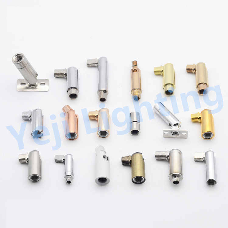 Universal head M10 M8 inner thread outside teeth ceiling rose canopy adapter lamp base connector iron plating lighting fittings
