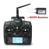 Walkera DEVO 7 Transmissor 7CH 2.4G Controle Remoto Com Receptor RX701