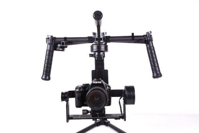 RCMOY Aktualisierte version Handheld 3-Axis Brushless Gimbal Stabilizer Gyroskop für DSLR Kamera 5D3/GH4/A7S/BMPCC bereit zu bedienen