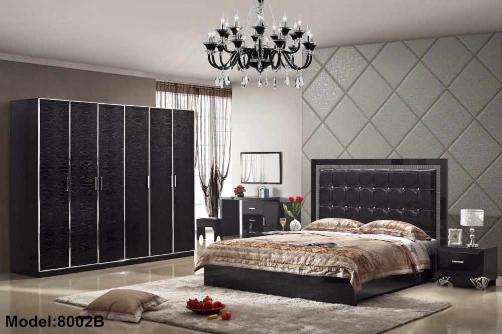 Para Quarto Nightstand Special Offer Direct Selling Modern Wooden Bed Room  Furniture Set Bedroom Sets