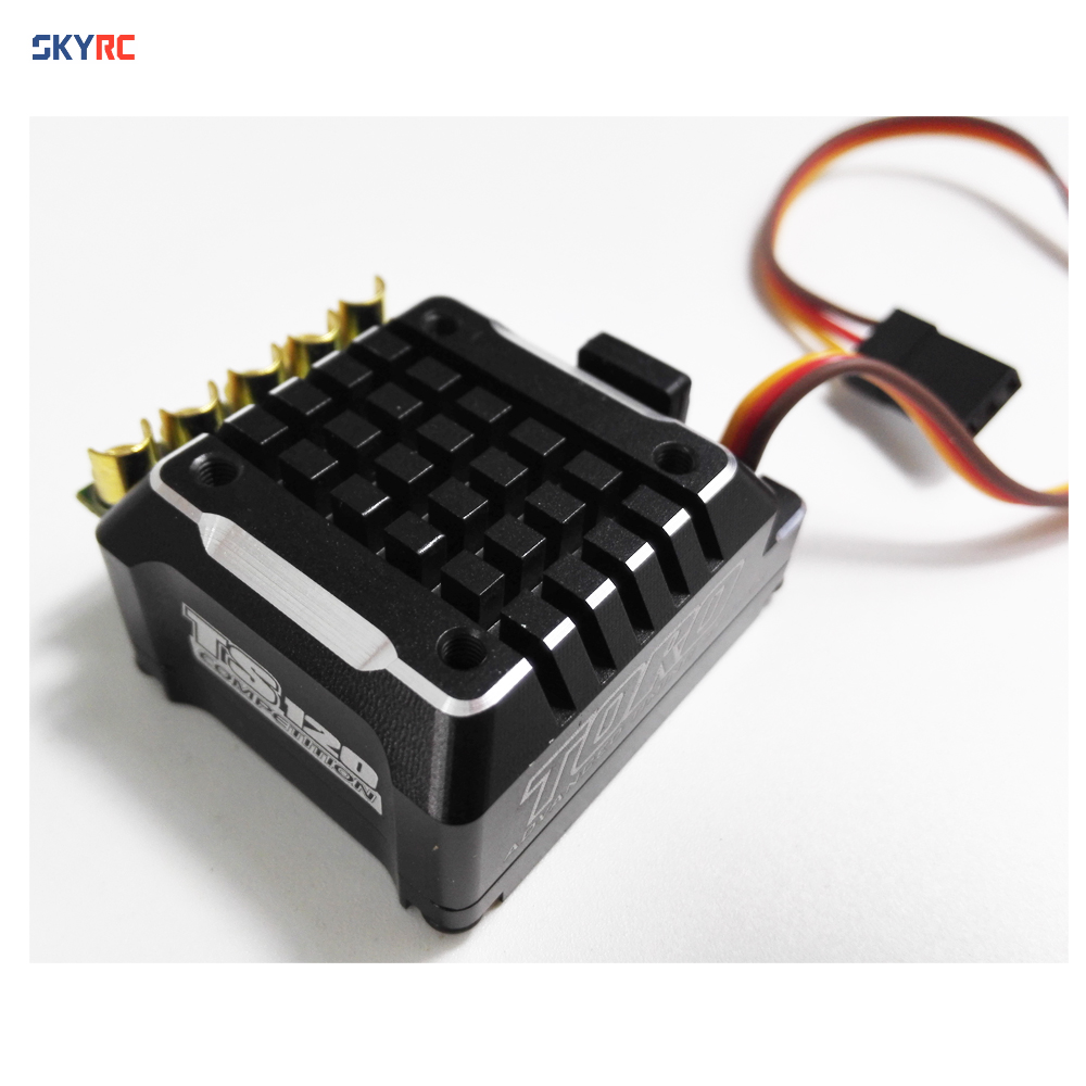 SKYRC Toro TS120A brushless esc controller upgrade version metel 120a ESC with aluminum case for 1/10 1 10 scale truck buggy car original skyrc toro ts 150a brushless sensor sensorless motor esc for 1 8 rc buggy truck monster truggy free s radio control