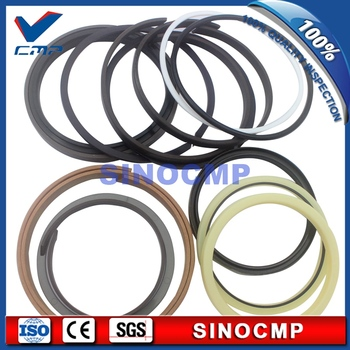 R250LC-3 R250-3 Boom Cylinder Repair Seal Kit For Hyundai Excavator Service Kits , 3 month warranty
