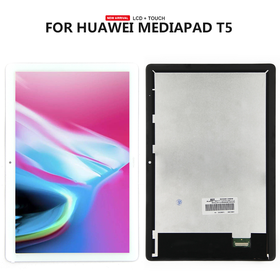 Lcd Display Touch Screen Digitizer Assembly For Huawei MediaPad T5 10 AGS2-AL00HA GS2-W19 AGS2-W09 AGS2-L03 AGS2-L09 LCD