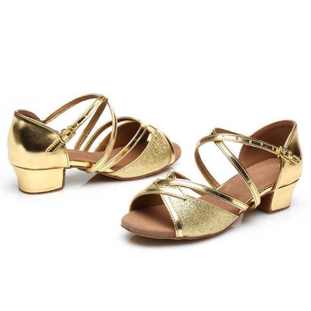 Ballroom Tango Latin dance shoes low heels
