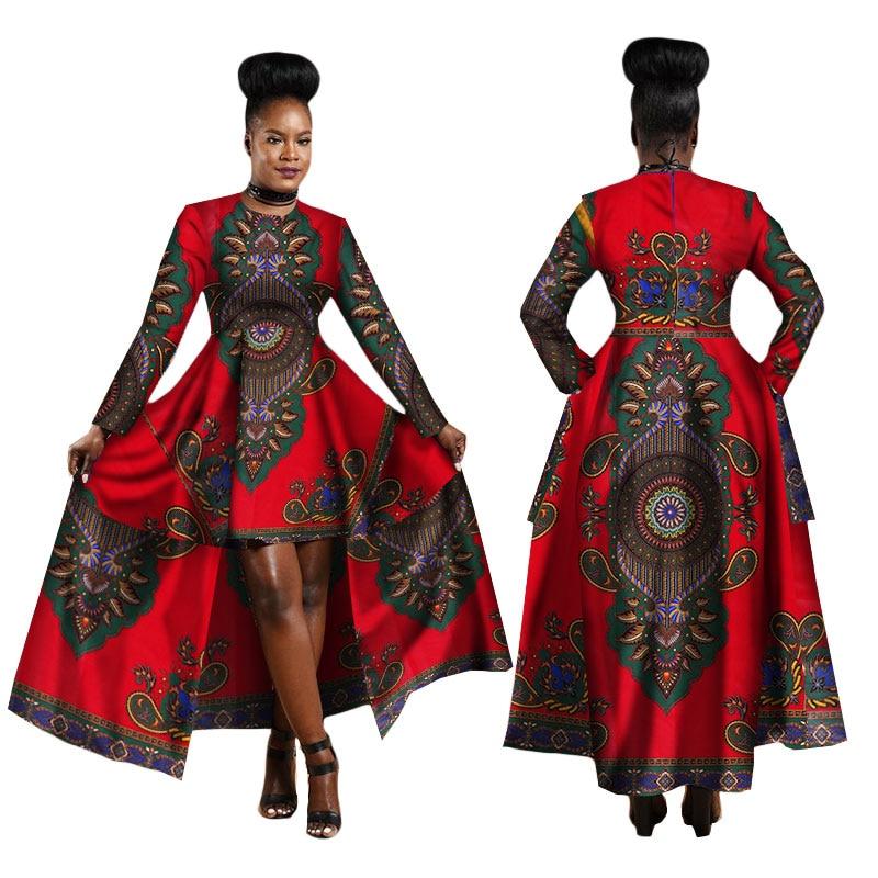 Hitarget 2019 African Dresses For Women Dashiki Cotton Wax