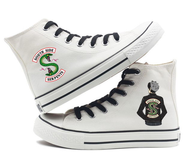 RIVERDALE SOUTHSIDE SERPENTS HIGH TOP SHOES (8 VARIAN)