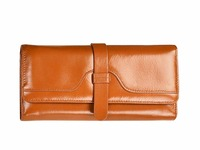 ZENTEII Women Genuine Leather Long Wallet
