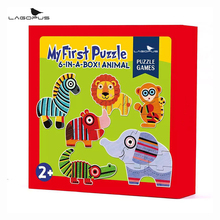 Lagopus Baby Puzzle Set Education Learning Tools Toy for Kids Magic Intellect puzzles for children New 32pcs set early education puzzles vehicle animal fruit kids learning toy for newborn baby kids boys girls gift