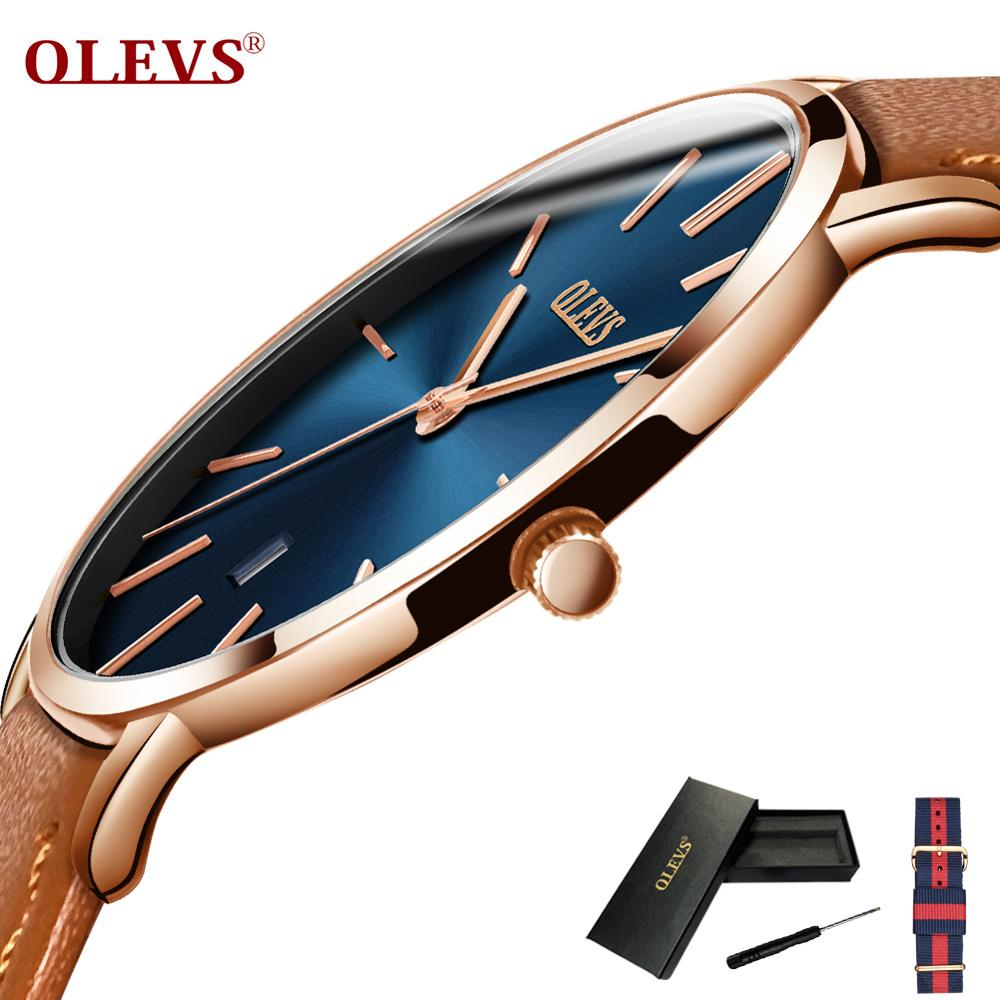 Ultra thin Mens Watches Top brand Luxury Genuine Leather Casual Quartz Waterproof Wristwatch mens Relogio Masculino Male ClockUltra thin Mens Watches Top brand Luxury Genuine Leather Casual Quartz Waterproof Wristwatch mens Relogio Masculino Male Clock