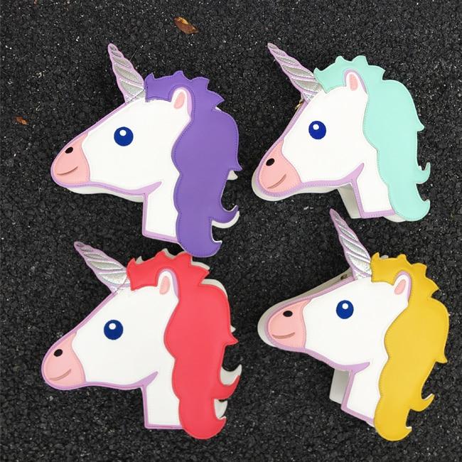 Green Borsa light Della purple Modo Tracolla Delle Di Signore Crossbody blue Pink Borse Spalla Divertimento Stile Flap red Carino A catena Personalità Mini Sacchetto Tendenze Unicorno yellow xqtvf4zCwF