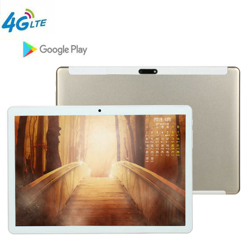 CARBAYTA Android 8.1 2.5D Glass 10 Inch The Tablet Octa Core 4GB RAM 64GB ROM 3G 4G Phone Call 1280*800 IPS Kid Gift Tablets