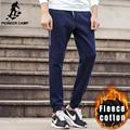 Pioneer camp nuevos hombres pantalones casuales ropa de la marca de moda otoño invierno pantalones holgados masculinos esquilan los pantalones calientes hombres
