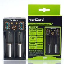 Зарядное устройство VariCore V20i V10 18650 1,2 в 3,7 в 3,2 в 3,85 В AA/AAA, зарядное устройство для литиевых аккумуляторов 18650 26650 10440 14500 NiMH