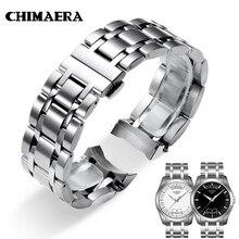 CHIMAERA Correa de reloj de acero inoxidable para Tissot Couturier T035, 22mm, 23, 24, T035617, T035439