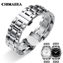 Chimaera 22 Mm 23 24 T035617 T035439 Horlogeband 316L Zilver Massief Roestvrij Stalen Horloge Link Voor Tissot Couturier T035 Horloge band