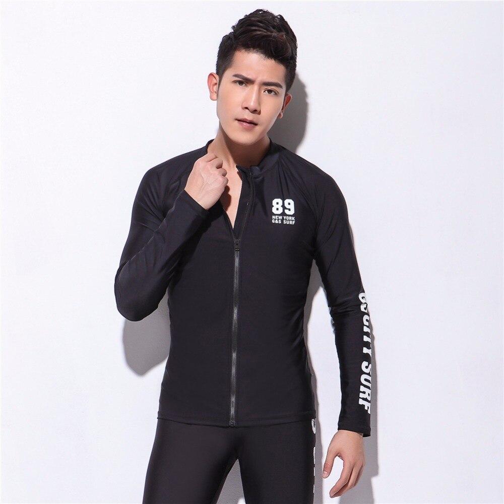 Hot Sale Rashguard Surf Men Diving Suit Swimsuits Surf Shirt Men Swim Shirt Skin Suit Long Sleeve Surf Shirts