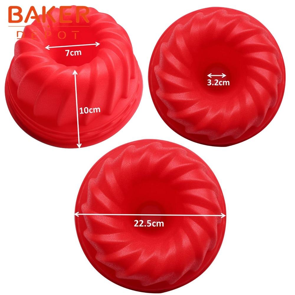 BAKER DEPOT үлкен кекстерді силиконды - Тағамдар, тамақтану және бар - фото 3