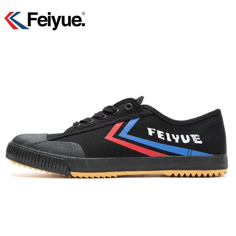Feiyue New Improved Black shoes, sneakers Martial art, Kung fu shoes