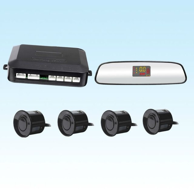 high sensitive back mirror  LED parking sensor system