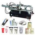 Pequeñas botellas de plástico automática máquina de impresión de pantalla, botellas de impresora de la pantalla