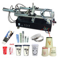 small automatic plastic bottles screen printing machine, bottles screen printer