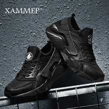 Men Casual Shoes Men Sneakers Brand Men Shoes Male Mesh Flats Loafers Breathable Plus Big Size Spring Autumn Slip On Xammep