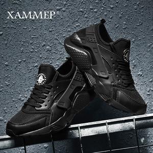Image 1 - Men Casual Shoes Men Sneakers Brand Men Shoes Male Mesh Flats Loafers Breathable Plus Big Size Spring Autumn Slip On Xammep