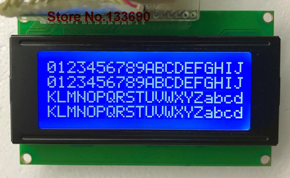 LCD Board 2004 20*4 2004A 20X4 5V Blue Yellow Screen