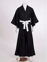 Japanese Hero Kurosaki Halloween Uniform With Robe For Men