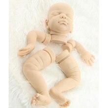 Doux Rare Édition limitée Silicone Reborn Doll Kit Moule Kits Solide Silicone Moule Réaliste Bébés Bebe Poupée Kit Toys Accessoires