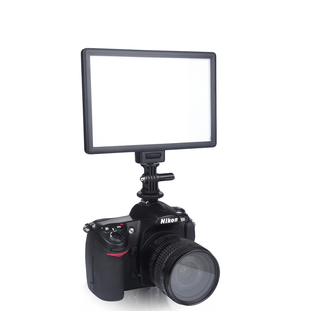 49 LED Video Light Lamp Photography Studio Dimmable for DSLR Camera DV Camcor es