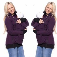 Осень Кофты Новый Пользовательский Руно Кенгуру Носить Толстовки Кофты Детские Платье Случайные Молния Pregant Толстовки LJ5494C