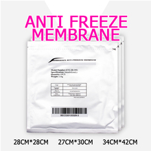 Fashion New Arrival 100pcs Antifreeze Membrane 27*30cm 34*42cm Antifreezing Anti-freezing Pad For Cryo Therapy