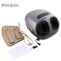 LED Electric Display Dual Foot Massager Shiatsu Kneading Heat and Remote Control