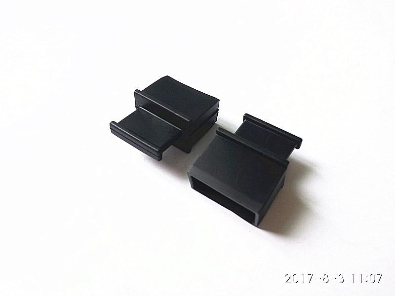 100 pcs/lots commutateur routeur XFP module 10 40G port optique bouchon anti-poussière couvercle de protection