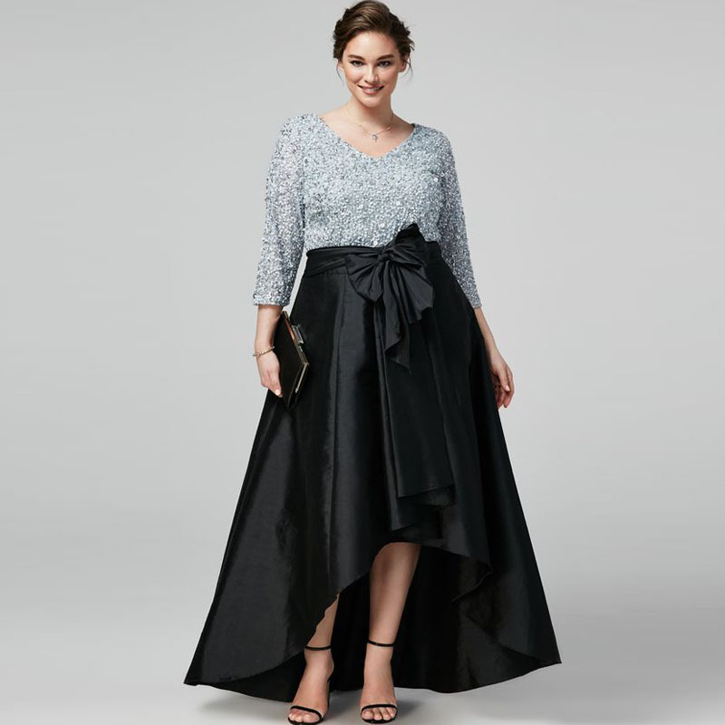 Длиные чёрные юбки