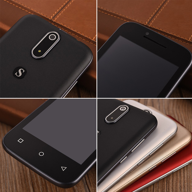SERVO H1 4.5 inch Android 6.0 mobile phone Quad Core Dual Sim smartphone 5.0MP 2G 3G GSM WCDMA cell cheapest smart phone P065