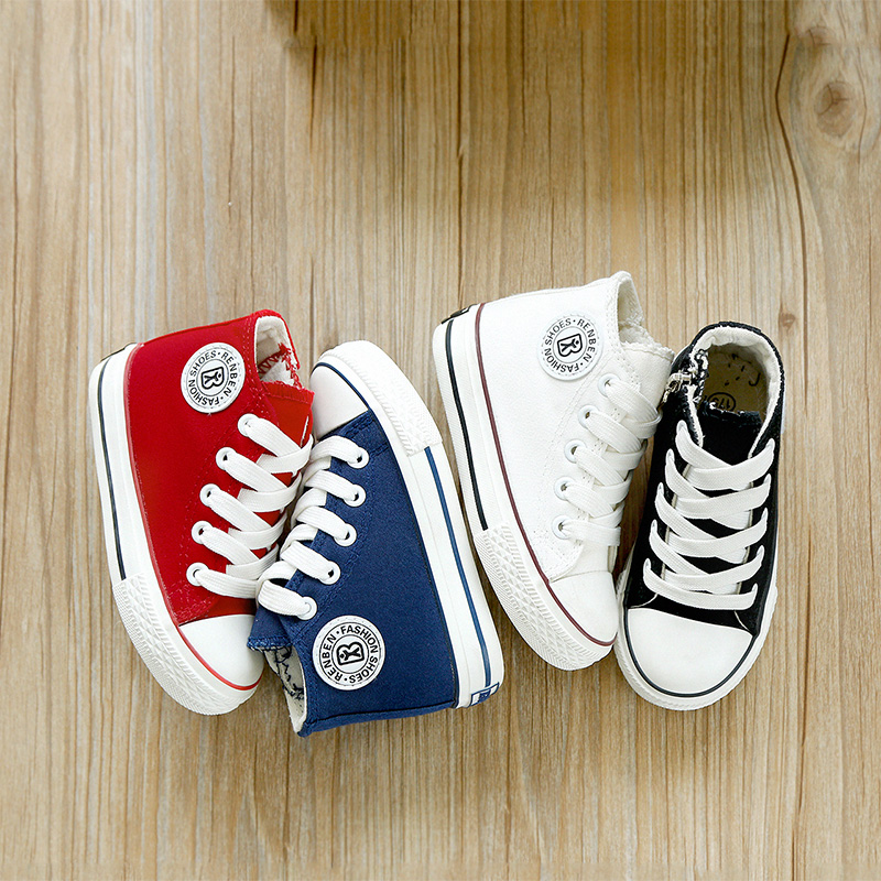 Kids-shoes-for-girl-children-canvas-shoes-boys-sneakers-2017-Spring-autumn-girls-shoes-White-High-Solid-fashion-Children-shoes-3