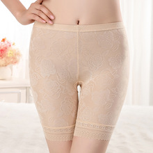 Шорты безопасности штаны Кружева бесшовные мягкие и удобные хлопок Материал боксер безопасные штаны для женщин Pantiesant для женщин трусики