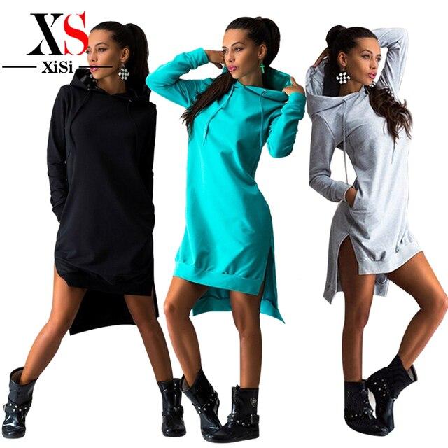 2015 New Fashion Clothes Women Dress Cotton Autumn Winter Dress Female Long Sleeve Dress O-Neck Girls black Dresses