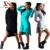 2015 Novas Roupas Da Moda As Mulheres Se Vestem de Algodão Outono Inverno Vestido Feminino de Manga Comprida O-pescoço Vestido de Meninas Vestidos de preto