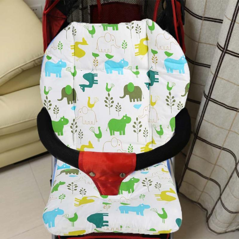 Universal Baby Stroller Seat Soft Cushion Kids Children Stroller Pram High Chair Thick Cover Cart Dining Chair Mat Stroller Pad