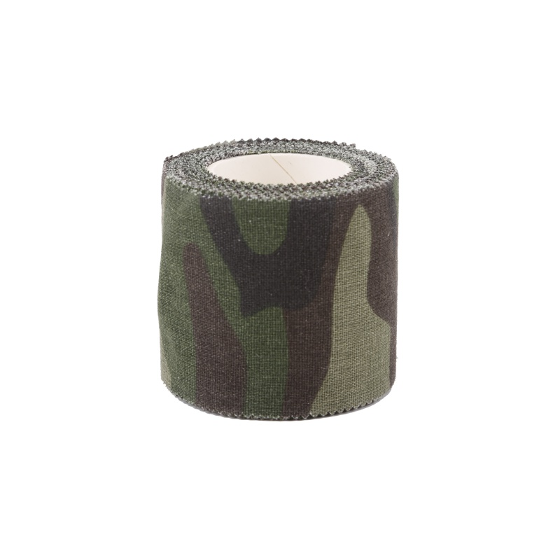 Image 5 - Army Non Woven Cohesive Bandage 5M Self adhesive Non woven Camouflage Cohesive Camping Hunting Stealth Tape-in Outdoor Tools from Sports & Entertainment
