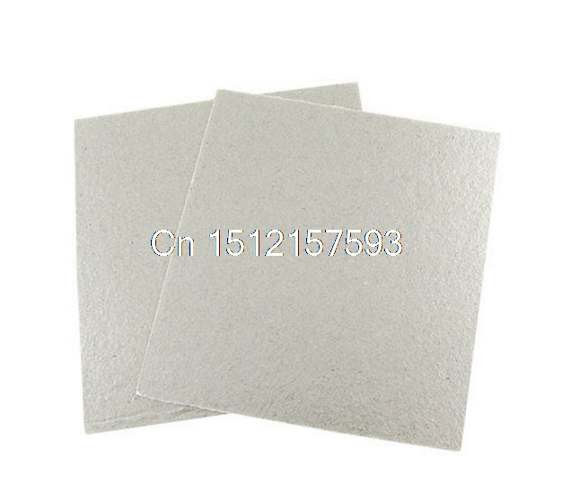 2 Pcs 5.1 x 4.7 Microwave Oven Repairing Part Mica Plates Sheets