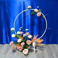 10pcs/lot White/Gold New Design Wedding Table Arch Centerpiece For Mariage Party Event Wedding Decoration