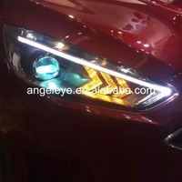 For Ford For Focus 2015 year LED Headlights LED Head Lamp For Mustang Style PW
