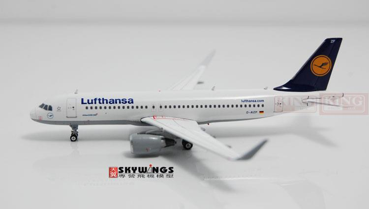 Phoenix 04033 Lufthansa A320 D-AIZP 1:400 commercial jetliners plane shark fin winglets Model Hobby