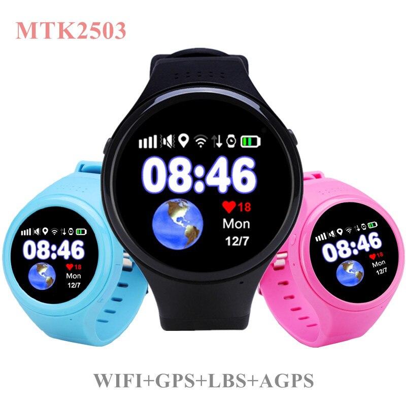 T100 T88 Bluetooth Kids Smartwatch Phone Smart Baby Watch Round Screen MTK2503 2G Smart Wristwatch SOS WiFi GPS Wacth Pedometer