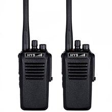 HYS 2pc 10W IP67 Waterproof Handheld VHF or UHF Two Way ham handheld Radio Portable transceiver Walkie Talkie comunicador
